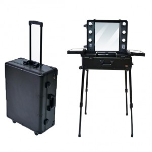 Rolling Stand Make-Up Case